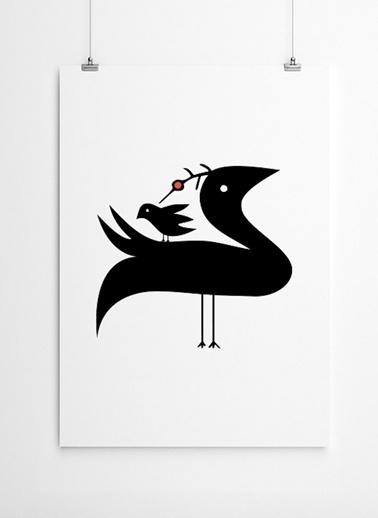 Kuşlar Poster-Fabl